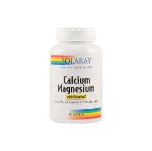 Calciu Magneziu cu Vitamina D solaray